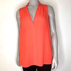 Vince Camuto red/orange blouse.